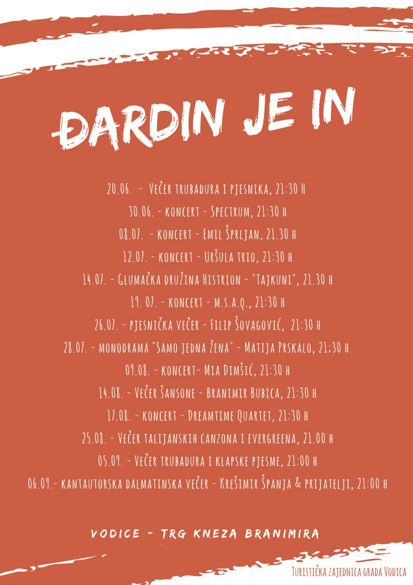 Đardin je IN - Evening of Italian songs and evergreens
